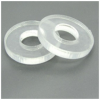 clear rubber washer